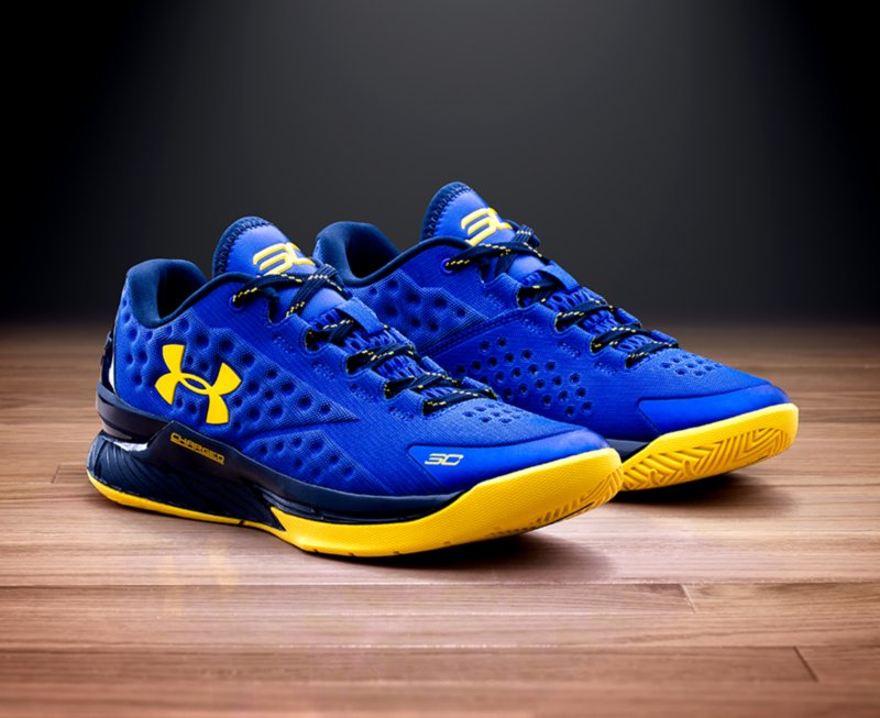 Under Armour Curry One Low Home and Pacific Blue Release