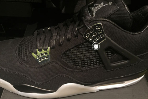 Air Jordan 4 Eminem Side