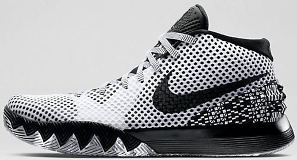 the best attitude 6ff7c cd9d1 Nike Kyrie 1 BHM – WhiteDark Grey-Black