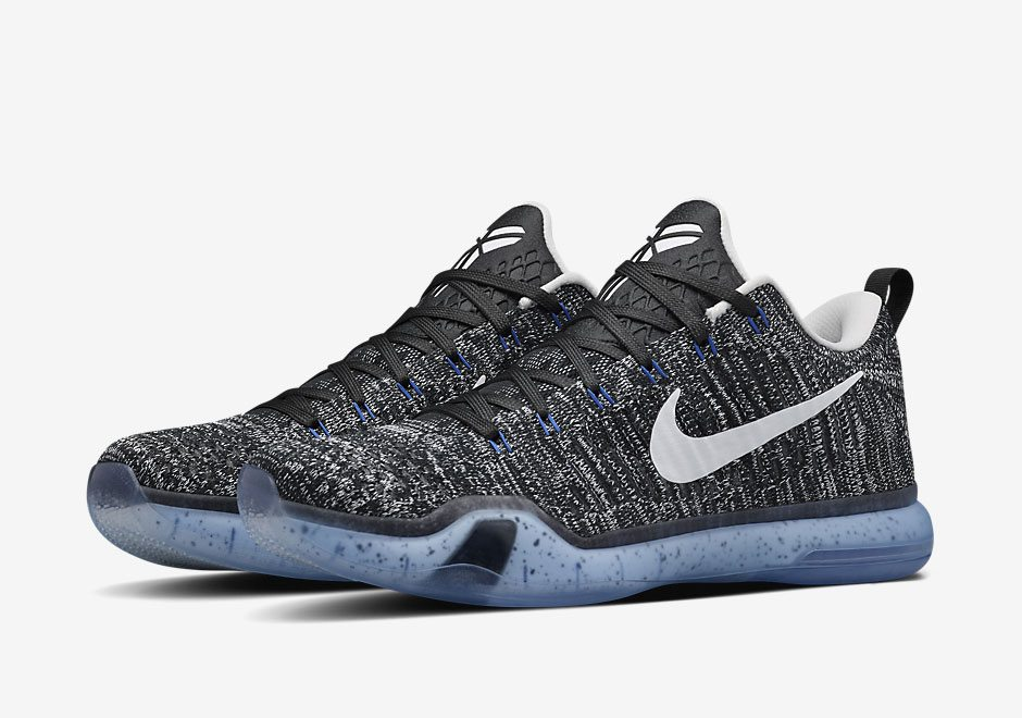 new concept 5e30d 30d77 Nike Kobe X HTM QS Releases   New Oreo Colorway