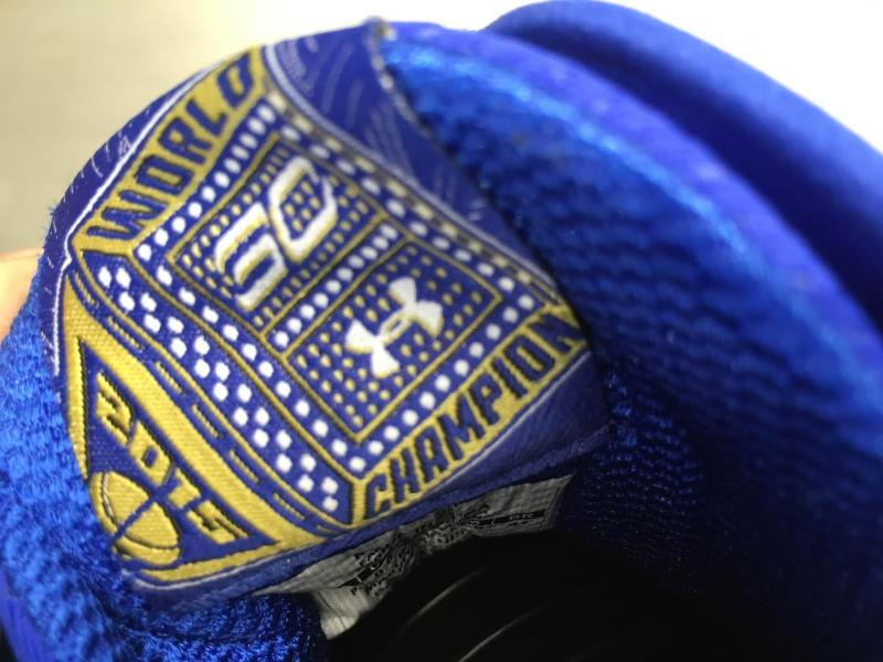 Under Armour Curry Two | Warriors 2 Rings Colorway