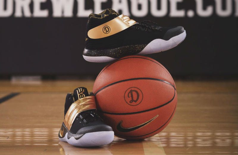 differently 0a323 c263f Nike Drew League Kyrie 2 Ball