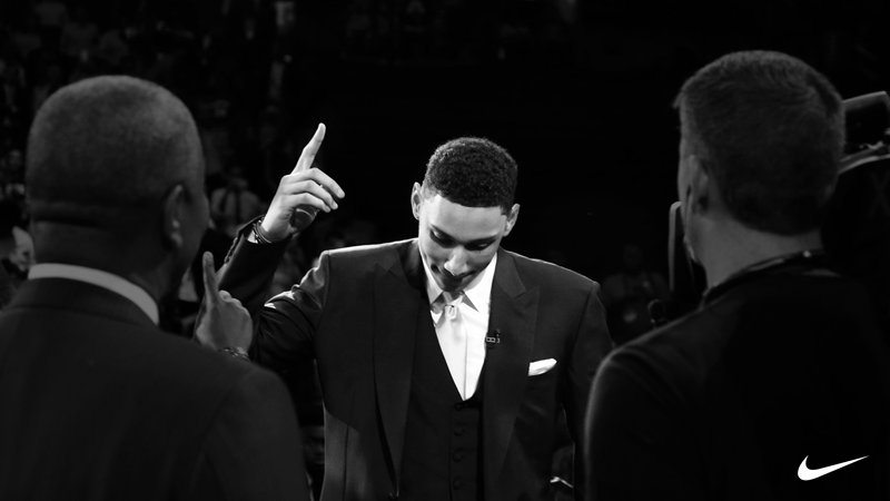 Ben Simmons Signs with Nike Basketball