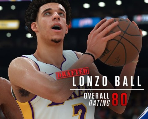 NBA 2K18 Screenshots and Ratings Tracker