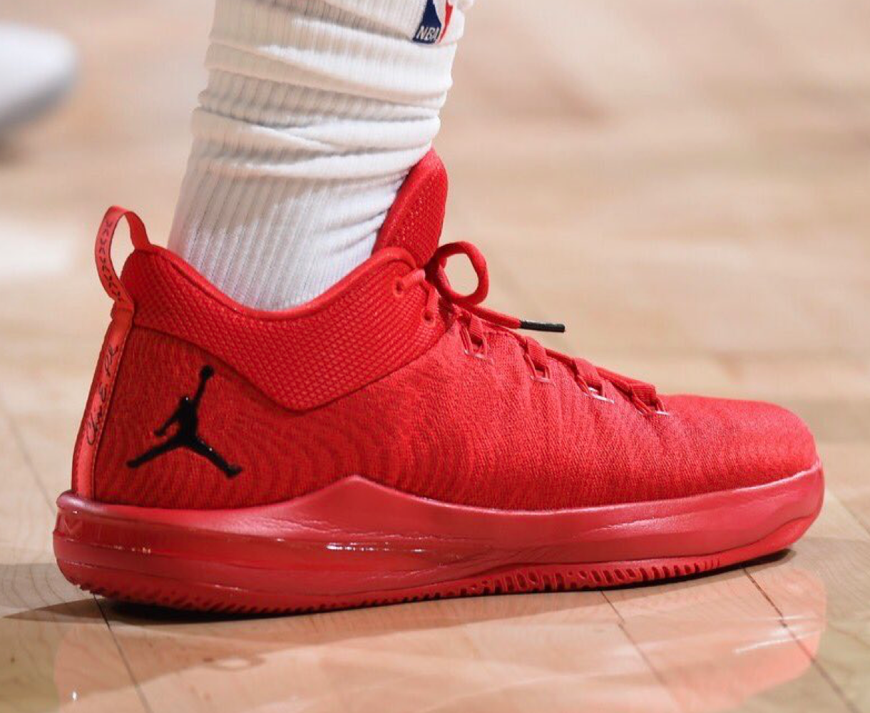new style 114b5 bd3a2 Chris Paul laces up his CP3 X Houston Rockets PE
