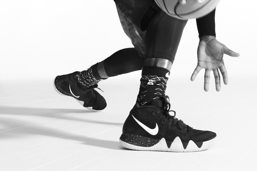 """the latest 21247 d6733 The Nike Kyrie 4 """"Ankletaker"""" is now available for  120.00 USD at most Nike  retailers. These are sure to be easily available but don t sleep for too  long, ..."""