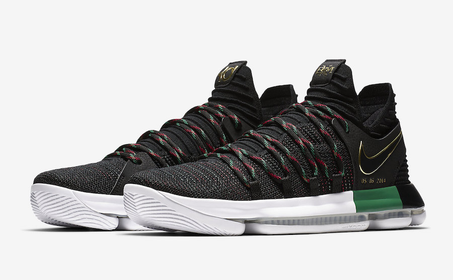 new style 8c3c3 176a5 Nike KD 10 – 2017-2018