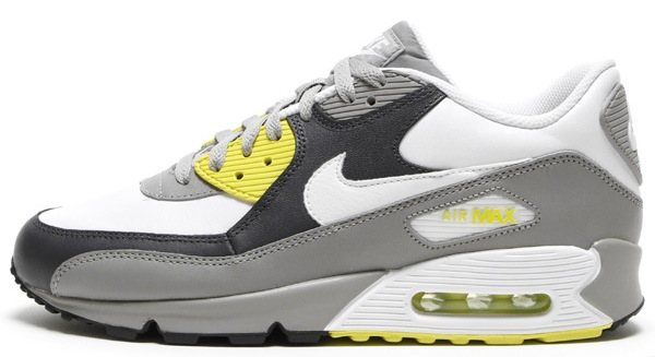 Nike Air Max 90 Medium Grey/High Voltage