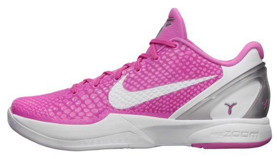 timeless design e2a9e 001cf Nike Zoom Kobe VI  Think Pink
