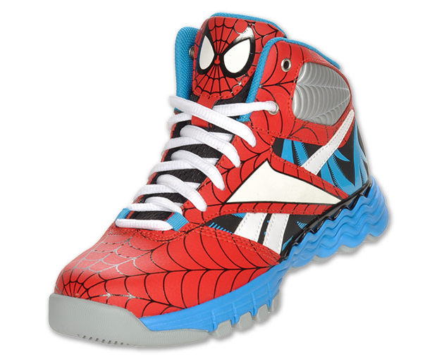 Reebok Sir Jam Marvel Toddler Boys Size 6 Red Sneakers Shoes