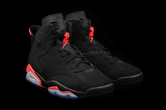 Air Jordan Retro 6 Black Infrared Profile
