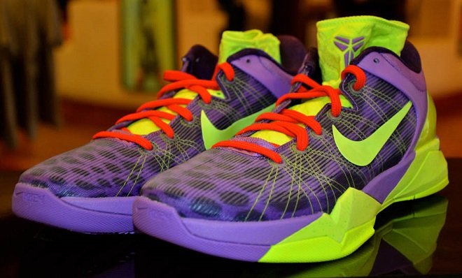 31. Nike Kobe 7 Christmas Cheetah