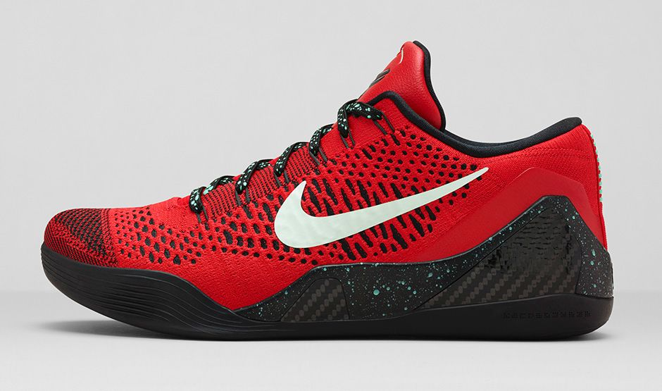 """a5e881f27fe5 Official Images Nike Kobe 9 Elite Low """"University Red"""""""