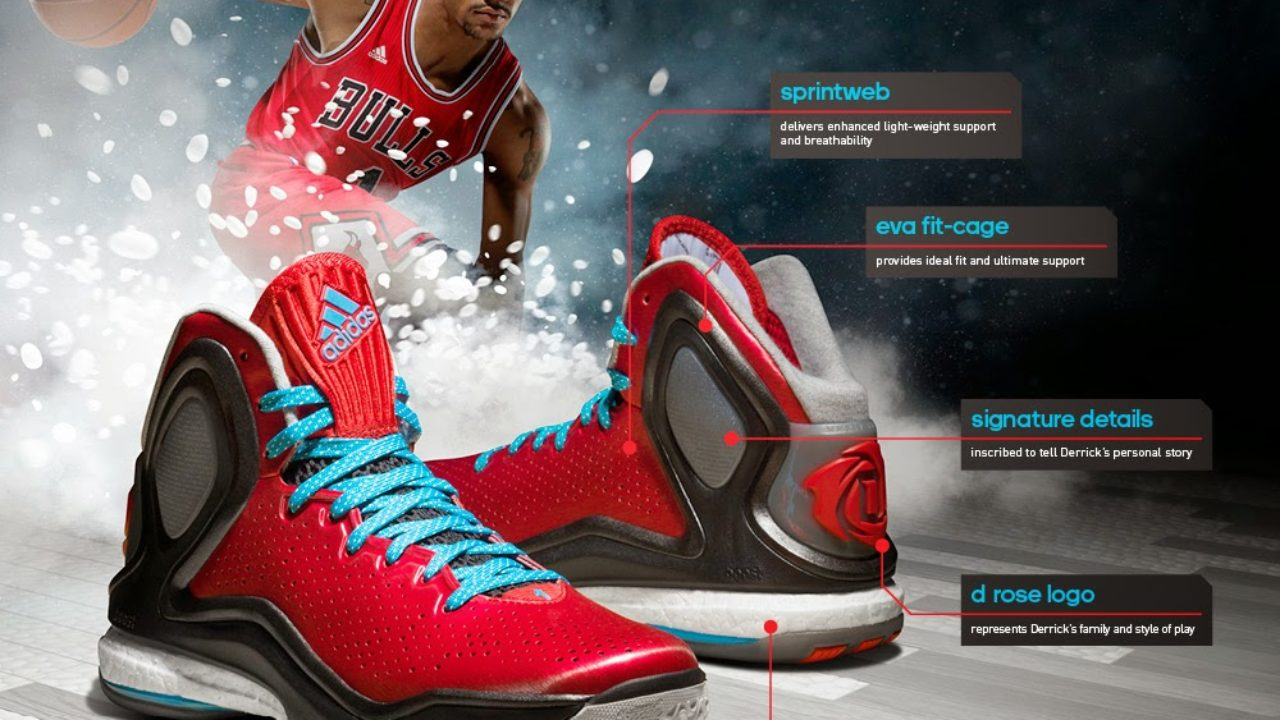 2adidas d rose 5 boost fit