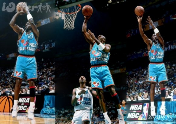 1996 NBA All Star Air Jordan 11 Columbia