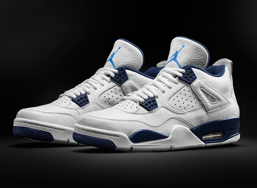 Air Jordan 4 Columbia Remastered
