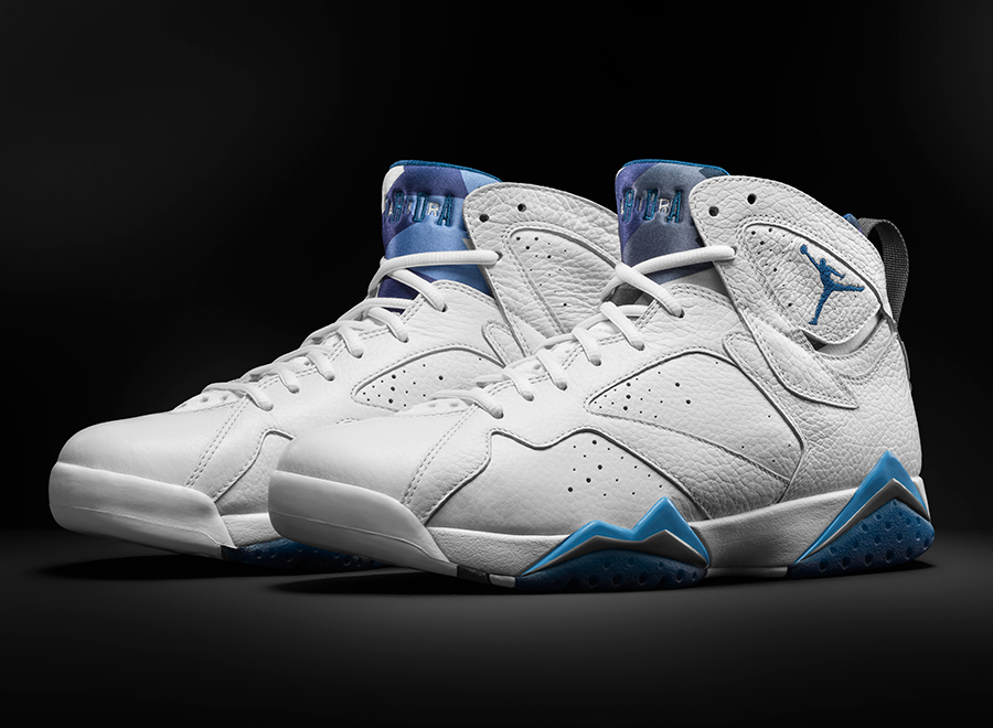 Air Jordan 7 French Blue Remastered
