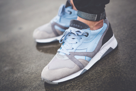 Diadora N.9000 Light Blue:Grey