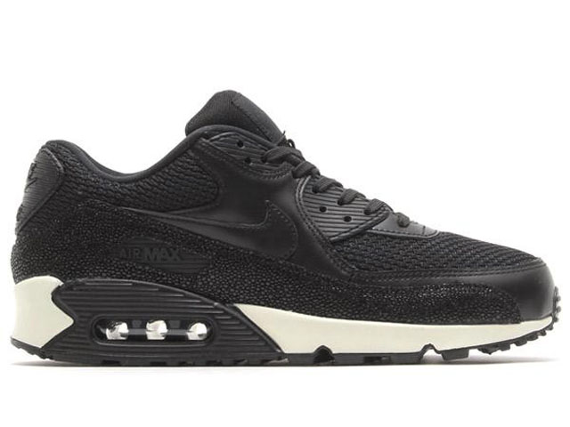 Nike Air Max '90 Leather PA Black:Black-Sea Glass