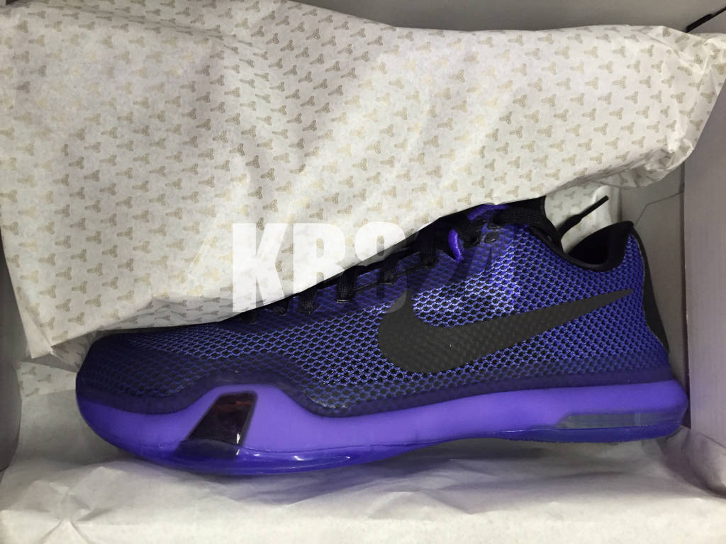 """promo code 5246a 67f55 The Nike Kobe 10 """"Persian Violet"""" will release February 21st, for  180.00  USD at select Nike retailers as a general release."""