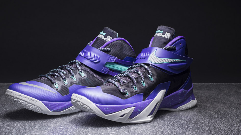 on sale 696f8 cc076 Nike Zoom LeBron Solider 8 Purple $89 | Sneaker Deal ...