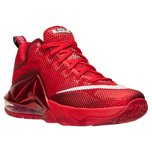 new product 4ae7f 64c21 Nike LeBron 12 Low Red $139 | Sneaker Deal - Kicksologists.com