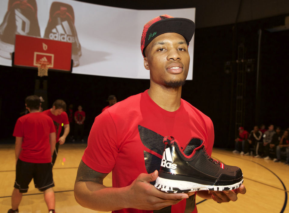 Damian Lillard | Shoe History | Sneaker Pics and Commercials