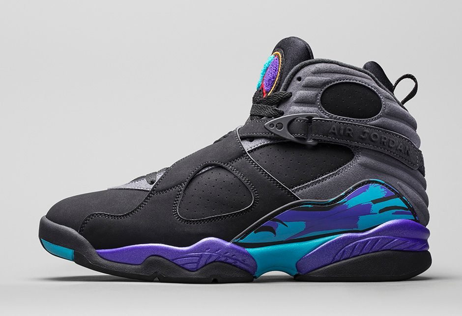 13260088288 Air Jordan 8 Aqua | Photos and Release Reminder – Kicksologists.com