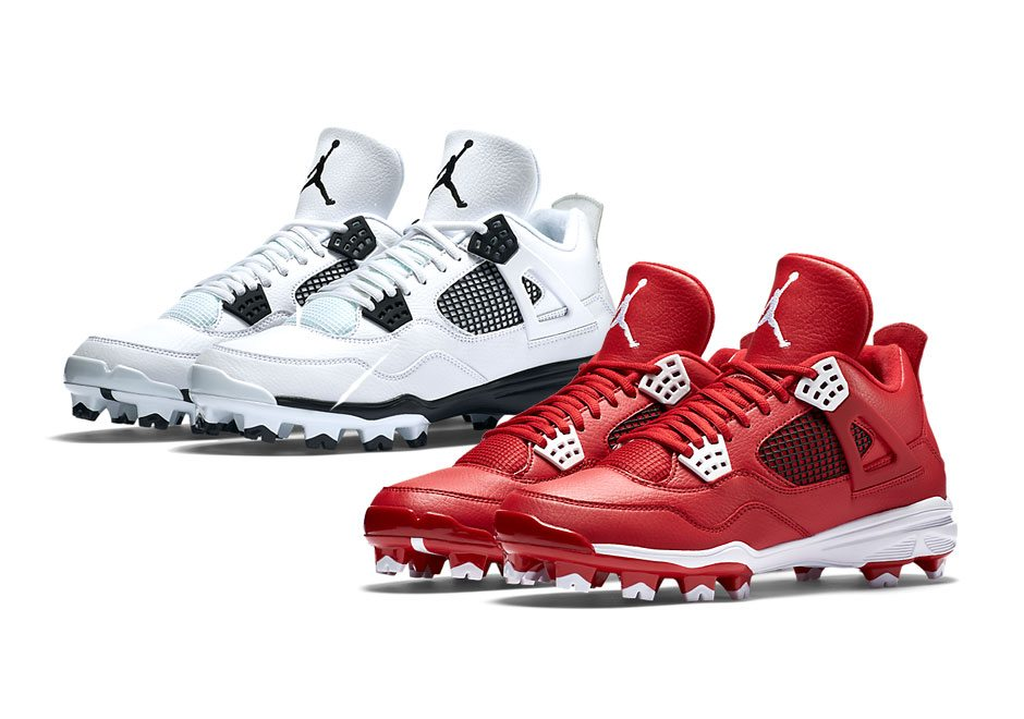 new concept e8b7a d70fe Air Jordan Retro IV MCS Cleats – Kicksologists.com