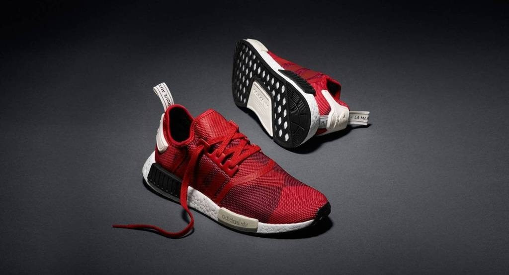 adidas nmd r1 abstract red