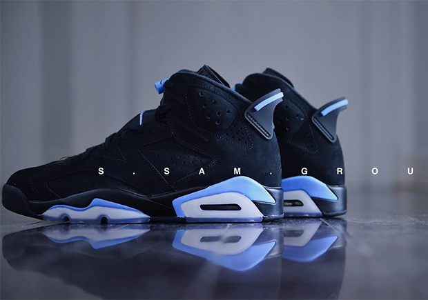 more photos 8ff46 3488a Air Jordan Retro 6 UNC Detailed Images - Kicksologists.com
