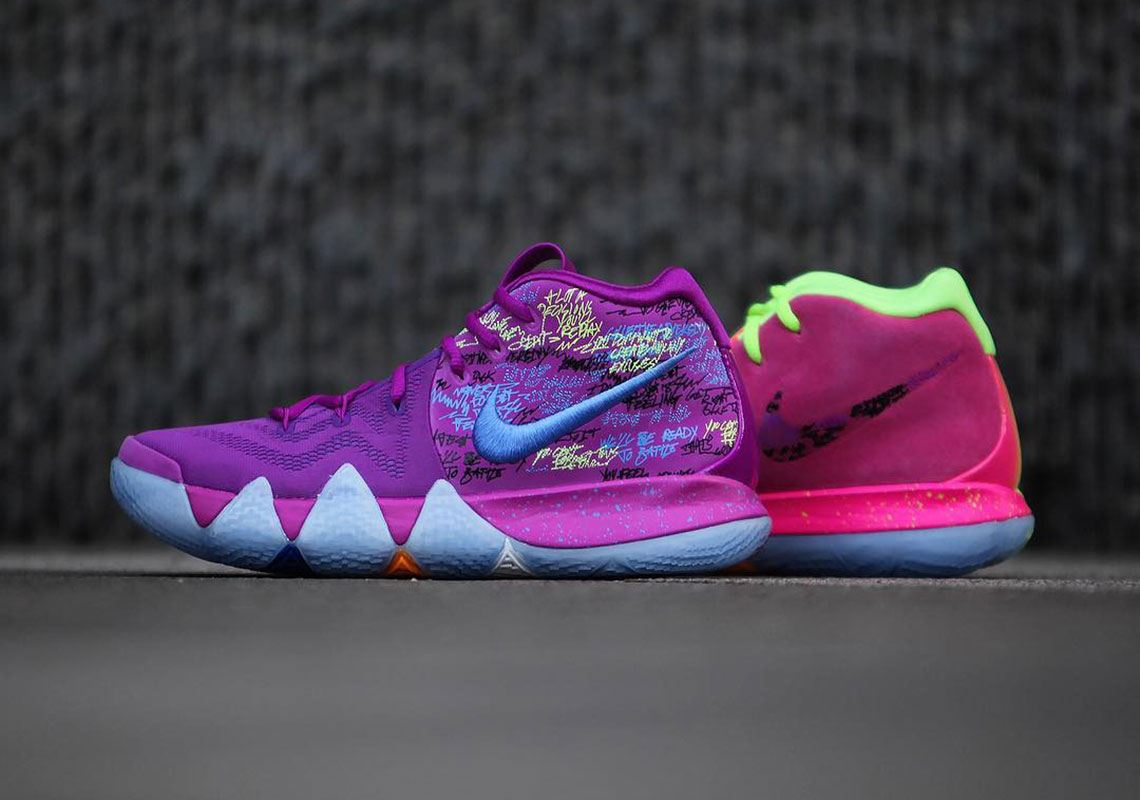 new concept 7a828 287a9 Nike Kyrie 4